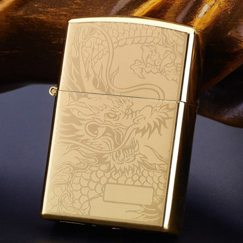 Briquet Arc Electrique Dragon Or