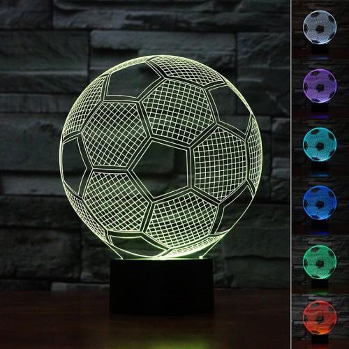 Lampe 3D LED Ballon de Foot