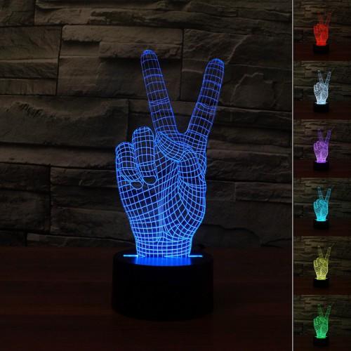 Lampe 3D LED Main