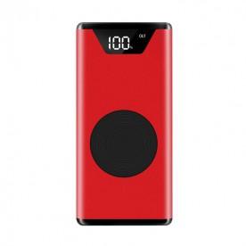 Batterie Externe Sans Fil Rouge