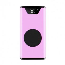Batterie Externe Sans Fil Rose