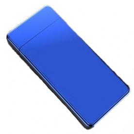 Briquet Arc Electrique Incliné Bleu