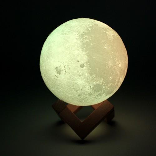 Lampe 3D LED Ourson Lune