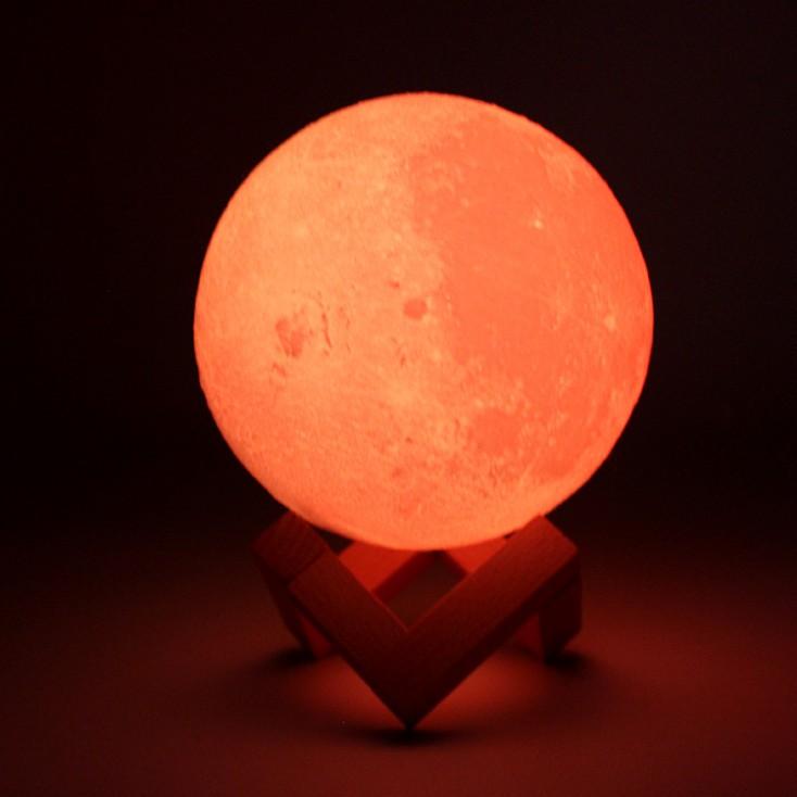 Lampe 3d Led Ourson Lune Technoboutique