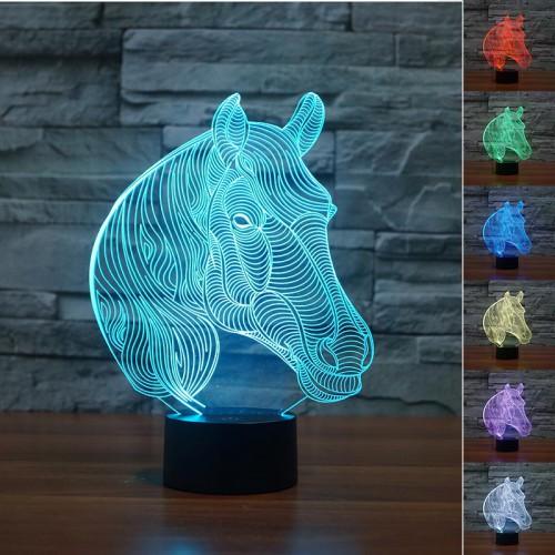 Lampe 3D LED Puma