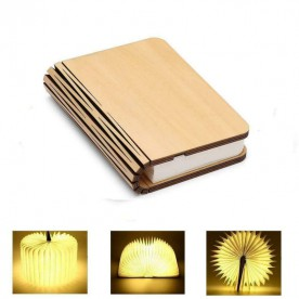 Maple Book Lamp