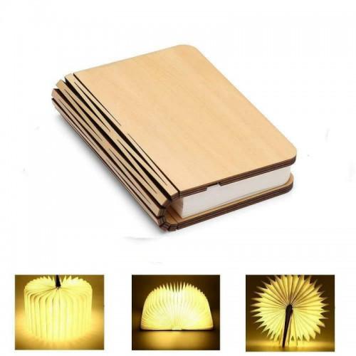 Maple Book Lamp