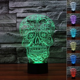 Lampe 3D LED Cubanisto