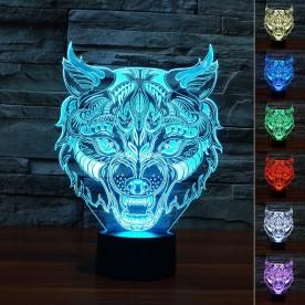 Lampe 3D LED Loup