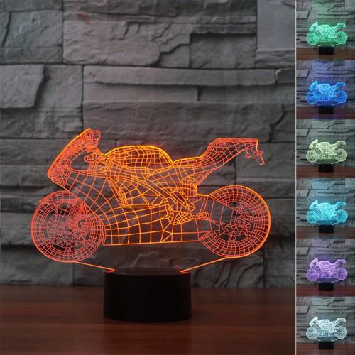 Lampe 3D LED Moto