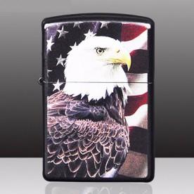 Briquet Simple Arc Electrique Dessin Aigle Americain