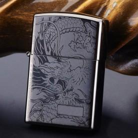 Briquet Arc Electrique Dragon Noir Métallisé